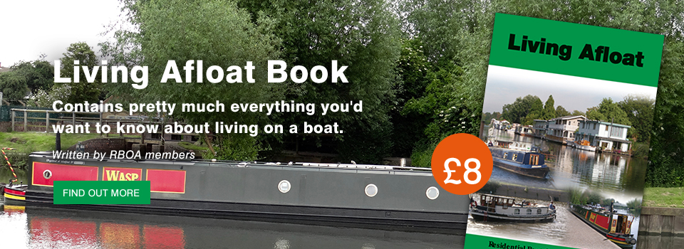 rboa narrow boat living on canal residential living afloat book