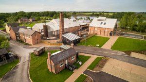 Lion Saltworks Museum aerial image