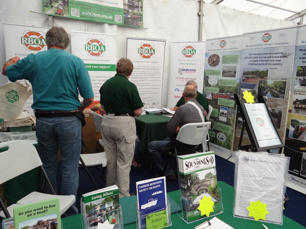 rboa Stand at Crick